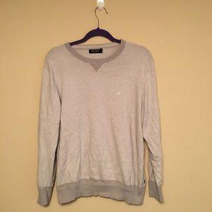 Grey Nautica Sweater